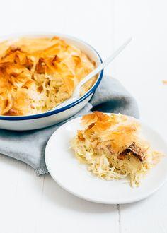 zuurkooltaart met ananas #sauerkraut