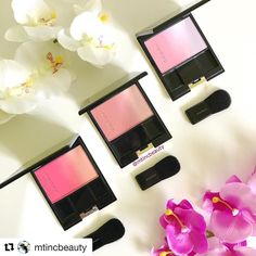 #Repost @mtincbeauty (@get_repost)  @suqqu_official blushes for a happy Friday!! Shown here L-R: 030406 . Side note: my baby all of a sudden now cries whenever I leave her. She didnt do it before but all of a sudden this week she did. Even if the hubs is there I walk away she would cry. Especially at night. Is this a phase thing again?!  . . #suqqu #suqquuk #blushaddict #pink #love #cosme#コスメ#メイク#化粧品#美容#今日のメイク