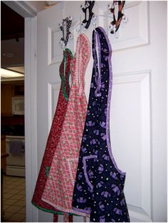 Art Threads: Wednesday Sewing:  One Yard Apron