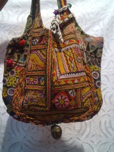 Beautiful bohemian style handbag.  always wanted a bag like this