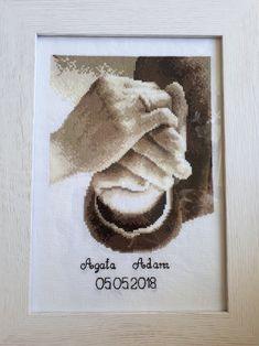 Pamiątka ślubna Agaty i Adama.