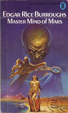 Master Mind of Mars by Edgar Rice Burroughs. NEL 1973