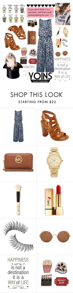 """""""Summeerrr!! 😇❤💪"""" by tina14 ❤ liked on Polyvore featuring Thakoon, Bamboo, MICHAEL Michael Kors, Michael Kors, Bobbi Brown Cosmetics, Yves Saint Laurent, Trish McEvoy, Sunday Somewhere, Brewster Home Fashions and Frontgate"""