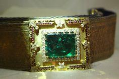 Jeweled Belt of Nizam of Hyderabad .