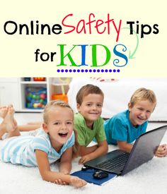 Kids Safety tips for online safety for kids. My kids just want to have fun. I just want them to be safe! - Kids just want to have fun online, parents just want them to be safe! Here are some online safety tips for kids to help make EVERYONE happy! Online Parenting Classes, Parenting Teens, Good Parenting, Parenting Hacks, Parenting Plan, Parenting Styles, Parenting Quotes, Internet Safety For Kids, Cyber Safety