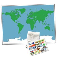 Label the uk and outline maps geography resources pinterest magnetic world map gumiabroncs Choice Image