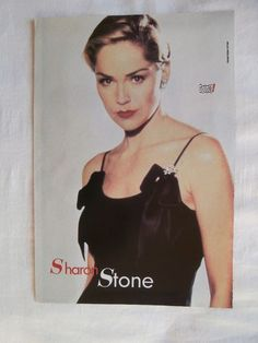 Sharon Stone Party of Five Big Poster Greek Magazines clippings 1970s 1990s | eBay