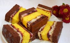 Un desert rapid, inspirat din copilarie Mango Desserts, Sweets Recipes, My Recipes, Cookie Recipes, Romanian Food, Romanian Recipes, Food Cakes, Special Recipes, Desert Recipes
