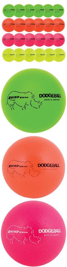 Other Team Sports 159133: Rhino Skin Mega Neon Dodgeball Set Of 24 -> BUY IT NOW ONLY: $259.99 on eBay!