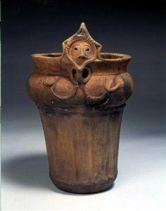 市指定有形文化財考古資料 顔面把手付土器