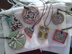Ceramic Art that i love – Ceramic Art Ceramic Pendant, Ceramic Jewelry, Ceramic Beads, Ceramic Clay, Clay Beads, Polymer Clay Jewelry, Ceramics Projects, Clay Projects, Clay Crafts