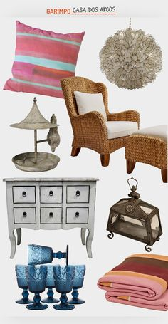 A casa dos arcos. Veja: http://casadevalentina.com.br/blog/detalhes/casa-dos-arcos-3093 #decor #decoracao #interior #design #casa #home #house #idea #ideia #detalhes #details #style #estilo #casadevalentina #produtos #products