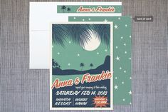 ... an idea: retro invitations
