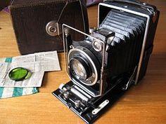 Alte Kamera, Fotoapparat, Balgenkamera