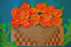 PAINTED PAPER: Marigolds for sale
