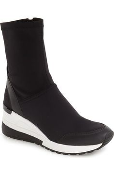 MICHAEL Michael Kors 'Ace' Wedge Sneaker Bootie (Women) available at #Nordstrom