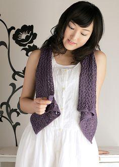 Ravelry: Openwork Gilet pattern by Pierrot     ~ my next knitting project