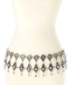 Look at this #zulilyfind! Silver Bullet Belt by Luna Luz #zulilyfinds