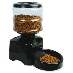 Programmable Timer Automatic Pet Feeder Station for Dog Cat Animal with Electronic Large Small Meal Portion Control