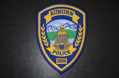 Auburn Police Patch, Placer County, California