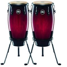 Meinl 11-inch&12-inch Headliner Conga Set Including Basket stands by Meinl Percussion. $359.99. Amazon.com                The 11-inch & 12-inch pair of Headliner wood congas is a full-sized entry level set with superb projection, warm tones, a light weight and features found on professional congas.  They offer outstanding quality and great value in the budget price range. This is a pair of congas you will want to keep around as you develop your skills.                        ...