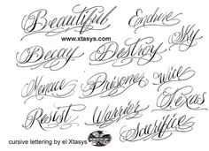 This Cursive For My Daughters Names
