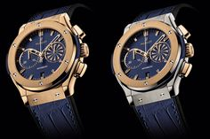 2013 Hublot Mykonos Classic Fusion Chronographs pay tribute to the Greek islands