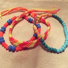 #zoecreations #combinations #macrame #jewelry #bracelets #pulseras