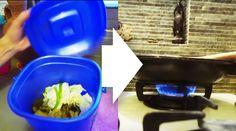 生ゴミのガスでコンロに火がつく「家庭用エコシステム」  食べ残しなどから堆肥をつくれる「コンポストボックス」の進化版が開発されました。生ゴミや動物の糞から出る「バイオガス」を抽出し、キッチンのガスコンロで利用