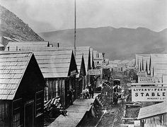 Barkerville, Cariboo Gold Rush in British Columbia, Canada Fraser River, Gold River, Oregon Trail, Canada, Gold Rush, Old West, History Facts, Ghost Towns, British Columbia