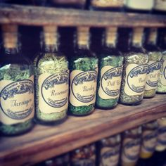 DIY Vintage Apothecary Spice Bottles