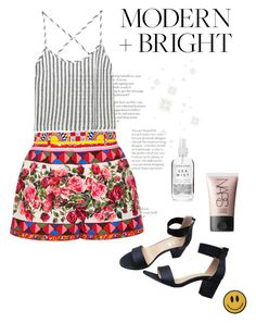 """""""Fresh Sqeezed"""" by space-buns ❤ liked on Polyvore featuring Dolce&Gabbana, Kain, Herbivore, NARS Cosmetics and modern"""