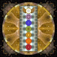 Chakras Photograph - Evolving Light by Bell And Todd