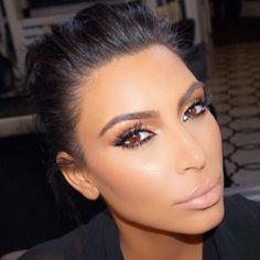 """Mario Dedivanovic  on Instagram: """"@kimkardashian glam for the #Espys tonight. We filmed a tutorial on the look for her new site launching soon ✨ hair @mrchrismcmillan #MakeupByMario . Brows- @anastasiabeverlyhills brow wiz in medium brown with clear brow gel. Illuminator in So Hollywood✨ on lips - @realcircabeauty color saturated lip crayon in Alluring."""""""
