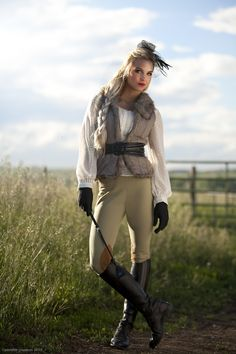 My newest riding outfit :)