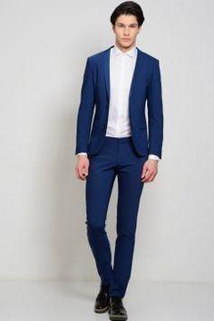 Fabrika Takım Elbise Erkek Saks 46-6n #modasto #giyim #erkek https://modasto.com/fabrika/erkek/br5370ct59