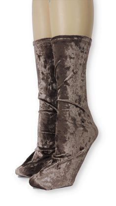 Brown Crushed Velvet Socks is one of the comfortable socks to express your self unique and modern. Make a statement with these luxe velvet crew socks Product Details: Quality Velvet Polyester, Spandex Super Comfy and Absorbent Size US EU Item code Velvet Socks, Crushed Velvet, Crew Socks, Crushes, Comfy, American, Brown, Unique, Spandex