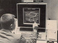 DAC-1 (The First Commercial CAD System), 1963