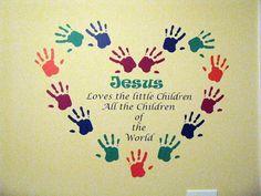 church wall art with scripture | JesusLovesChildren.jpg