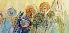 """Dandelions"" #artforsale #bulgariananart #bulgarianartist #abulgarianartbuyers #findbulgarianart #bulgarianartcollectors #femaleartist #oilpaintingsforsale #buyoriginalart #onlineartmarket #acrylicpainting #watercolours #artbaazar"