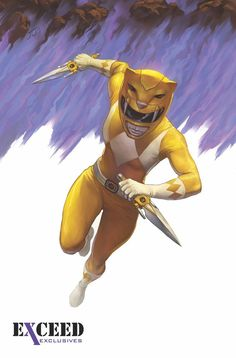 Mighty Morphin Power Rangers #4 Exclusives Yellow Ranger Variant