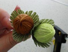 Орешек ( фундук ) из конфет. Свит дизайн.