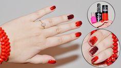 Lakiery: MAYBELLINE COLO RAMA - czerwony SAFARI - czarny  różowy - bez nazwy zakupiony na allegro
