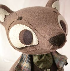 Just an Oldinary Wolf by MarieChou on Etsy-excellent sewing and details