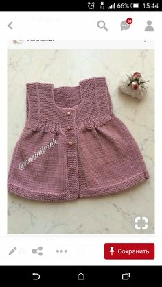 Ideas Crochet Clothes Patterns Kids American Girls For 2019 Knitting For Kids, Easy Knitting, Baby Knitting Patterns, Crochet For Kids, Baby Patterns, Crochet Baby, Crochet Patterns, Baby Cardigan, Baby Pullover