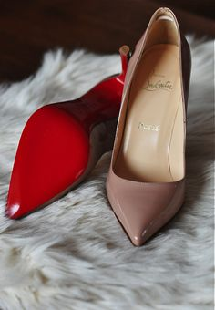Christian Louboutin red soles. Shoes. High. Heels. Accessories. Fashion.