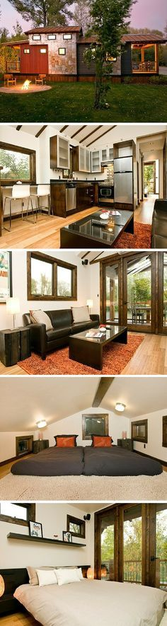 The Caboose by Wheelhaus: a 400 sq ft park model home.