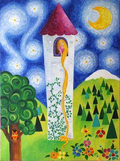 """rapunzel's tower"" | nicola joyner"