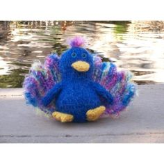 Percy Peacock Knitting pattern by The Byrd's Nest   Knitting Patterns   LoveKnitting