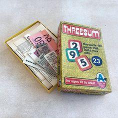 Vintage game box full of ephemera: 75 pieces of black and white ephemera with a sprinkle of colour. Love Collage, Games Box, Vintage Games, Game Pieces, Vintage Ephemera, Sprinkles, Desk, Colour, Color